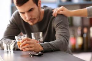 Начальная стадия появления алкогольной зависимости